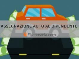 Auto in uso al dipendente