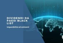Dividendi da Paesi Black list