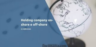 Holding on-shore e off-shore