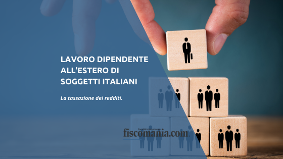 Lavoro dipendente estero in Italia