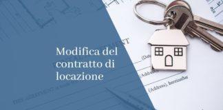 Modifica del contratto di locazione
