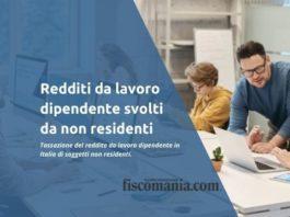 Redditi di lavoro dipendente in Italia