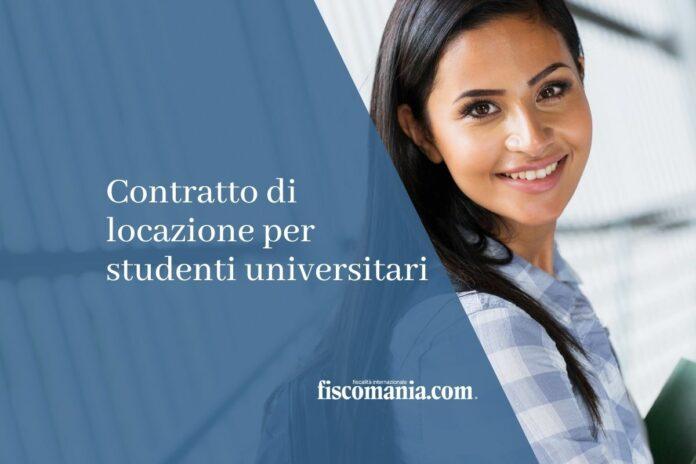 Contratto di locazione per studenti universitari