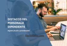 Distacco del personale aspetti fiscali e previdenziali