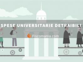 Spese universitarie detraibili