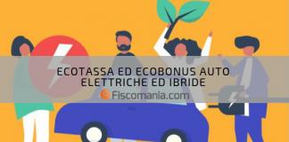 Ecobonus auto elettriche