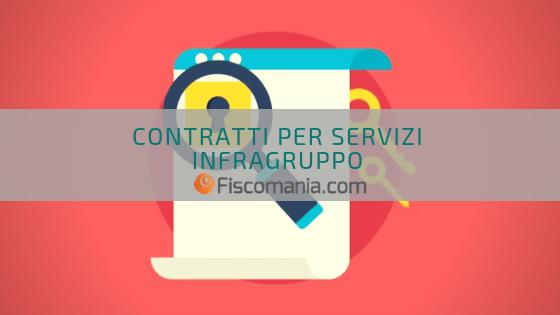Contratti per servizi infragruppo