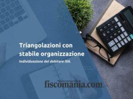 triangolazioni con stabile organizzazione
