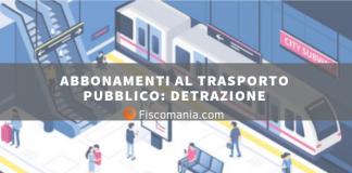 Abbonamenti al trasporto pubblico