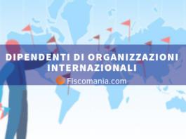 Dipendenti di organizzazioni internazionali