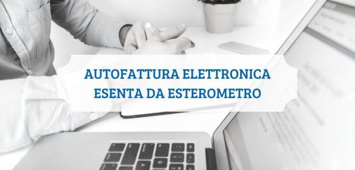 Autofattura Elettronica