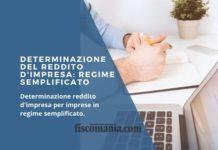 Determinazione del reddito d'impresa