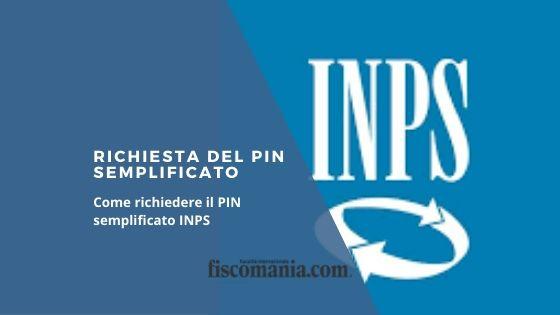 Richiesta del PIN