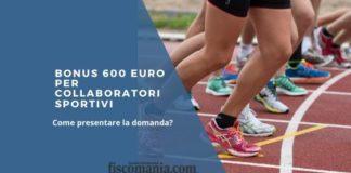 Bonus 600 euro per collaboratori