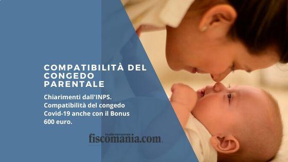 Compatibilità del congedo parentale