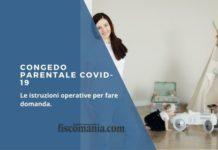 Congedo parentale Covid-19