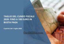 Taglio del cuneo fiscale