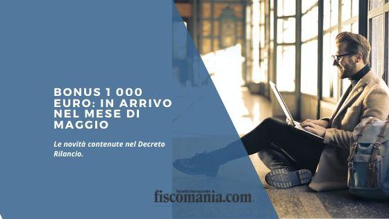 Bonus 1 000 euro