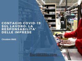 Contagio covid-19 sul lavoro