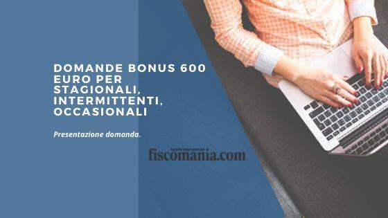 Domande bonus 600 euro