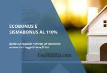 Ecobonus e sismabonus