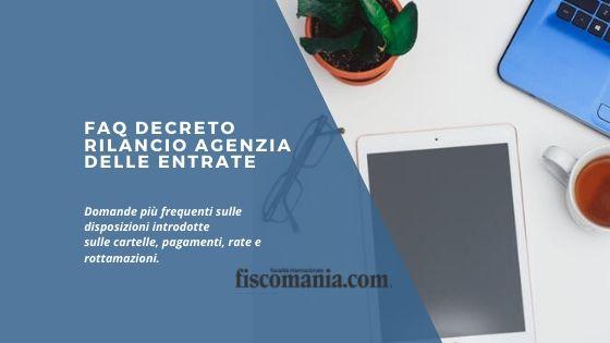 FAQ Decreto Rilancio