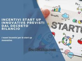 Incentivi start up