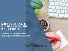 Modello ISA e dichiarazione dei redditi