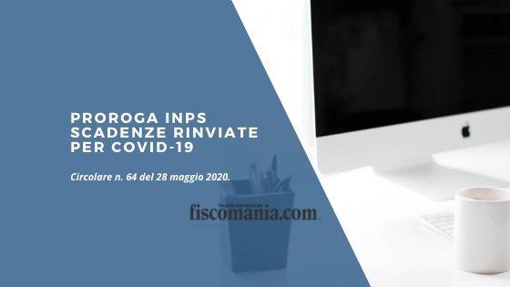 Proroga INPS