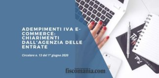Adempimenti IVA e-commerce