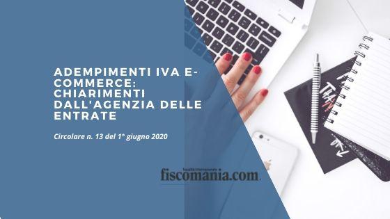 Adempimenti IVA e-commerce