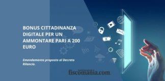 Bonus cittadinanza digitale
