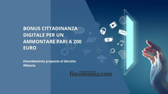 Bonus cittadinanza digitale