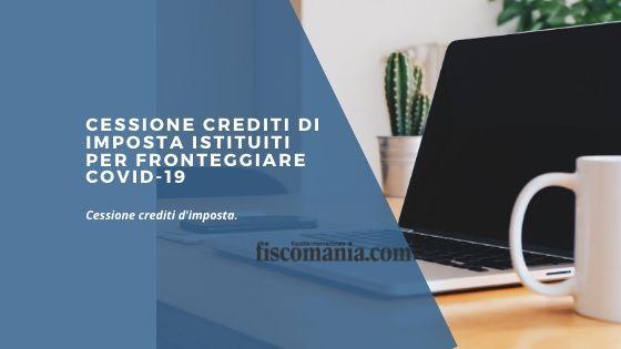 Cessione crediti di imposta