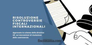 Risoluzione controversie fiscali internazionali