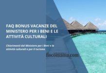 FAQ Bonus vacanze