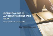 Indennità COVID 19