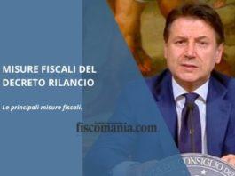 Misure fiscali del Decreto Rilancio