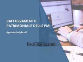 Rafforzamento patrimoniale delle PMI
