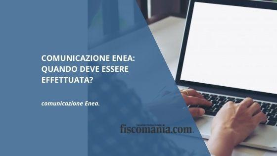 Comunicazione ENEA