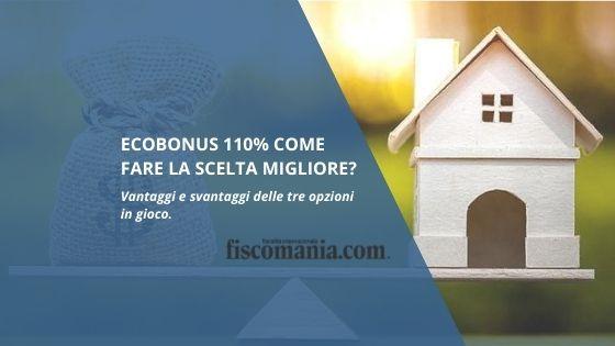 Ecobonus come fare scelta migliore