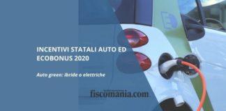 Incentivi per le auto