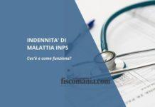 Indennità di malattia Inps