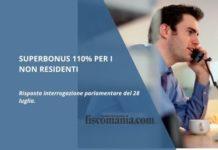 Superbonus 110% per i non residenti