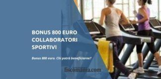 Bonus 800 euro