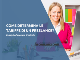 Come determina le tariffe un freelance