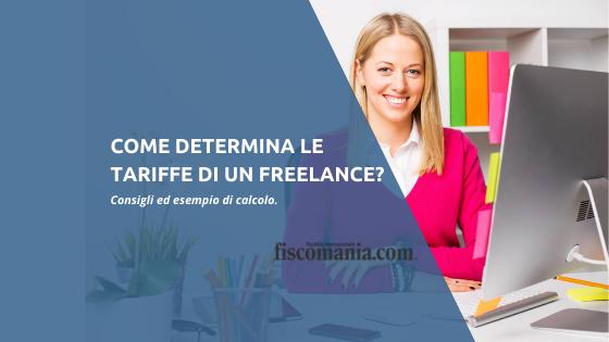Come determina le tariffe un freelance