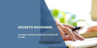 Decreto Novembre