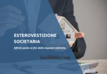 Esterovestizione societaria ed imposte indirette
