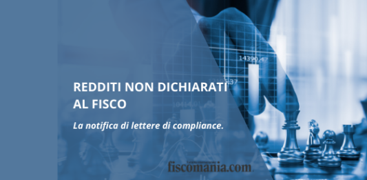 Lettere di compliance redditi non dichiarati